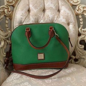 Dooney & Bourke Kelly green satchel